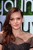 Aimee Teegarden at the 15th Annual Young Hollywood Awards, Broad Stage, Santa Monica, CA 08-01-13