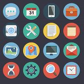 Flat Icons for Web and Applications Set1