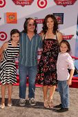 Amy Brenneman and family at the World Premiere Of Disney's Planes, El Capitan, Hollywood, CA 08-05-1