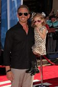 Ian Ziering with daughter at the World Premiere Of Disney's Planes, El Capitan, Hollywood, CA 08-05-13