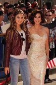 Emerson Tenney and Teri Hatcher at the World Premiere Of Disney's Planes, El Capitan, Hollywood, CA 08-05-13