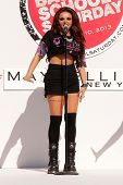 Jesy Nelson at Teen Vogue's Back-To-School Saturday Kick-Off Event, The Grove, Los Angeles, CA 08-09-13