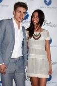 Nolan Funk and Mei Melancon at the Project Angel Food Angel Awards, Project Angel Food, Los Angeles, CA 08-10-13