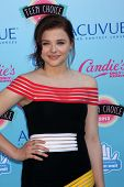 Chloe Grace Moretz at the 2013 Teen Choice Awards Arrivals, Gibson Amphitheatre, Universal City, CA