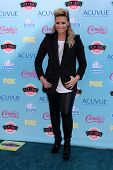 Demi Lovato at the 2013 Teen Choice Awards Arrivals, Gibson Amphitheatre, Universal City, CA 08-11-1