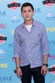 Logan Lerman at the 2013 Teen Choice Awards Arrivals, Gibson Amphitheatre, Universal City, CA 08-11-13