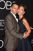 Jon Cryer and wife Lisa Joyner at the