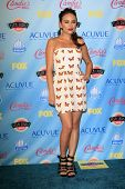 Janel Parrish at the 2013 Teen Choice Awards Press Room, Gibson Amphitheatre, Universal City, CA 08-