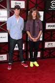 Anders Holm and Blake Anderson at the Comedy Central Roast Of James Franco, Culver Studios, Culver C
