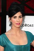 Sarah Silverman at the Comedy Central Roast Of James Franco, Culver Studios, Culver City, CA 08-25-1