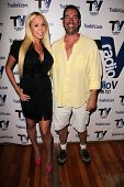 Mary Carey, Dave Wurmlinger at the set of