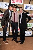 Matt Jones, Nate Corddry, French Stewart at the CBS, Showtime, CW 2013 TCA Summer Stars Party, Bever