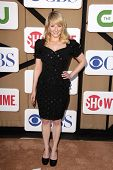 Melissa Rauch at the CBS, Showtime, CW 2013 TCA Summer Stars Party, Beverly Hilton Hotel, Beverly Hi