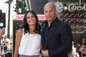 Jordana Brewster, Vin Diesel at the Vin Diesel Star on the Hollywood Walk of Fame Ceremony, Hollywoo