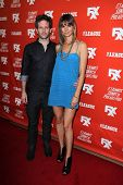 Glenn Howerton and Jill Latiano at the FXX Network Launch Party and