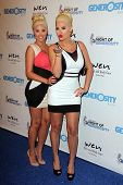 Karissa Shannon and Kristina Shannon at the 5th Annual Night of Generosity, Beverly Hills Hotel, Bev