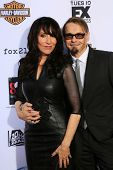 Katey Sagal and Kurt Sutter at the