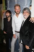 Charles Kelley, Dave Haywood and Randy Owen at the 7th Annual ACM Honors, Ryman Auditorium, Nashvill