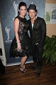 Keifer Thompson and Shawna Thompson of Thompson Square  at the 7th Annual ACM Honors, Ryman Auditorium, Nashville, TN 09-10-13