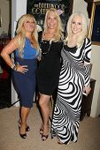 Gloria Kisel, Agnes-Nicole Winter and Donna Spangler at