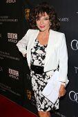 Joan Collins at the BAFTA Los Angeles TV Tea 2013, SLS Hotel, Beverly Hills, CA 09-21-13