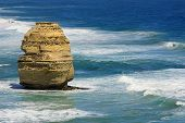 stock photo of 12 apostles  - senic view of the 12 Apostles on the Great Ocean Road - JPG