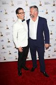 Dan Bucatinsky and Matt LeBlanc at the 65th Annual Emmy Awards Performers Nominee Reception, Pacific