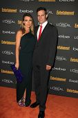 Natalie Zea and Travis Schuldt at the 2013 Entertainment Weekly Pre-Emmy Party, Fig& Olive, Los Angeles, CA 09-20-13
