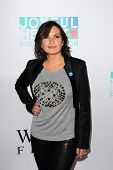 Mariska Hargitay at the Joyful Heart Foundation celebrates the No More PSA Launch, Milk Studios, Los