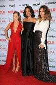 Alexa Vega, Rosario Dawson and Jessica Alba at the 2013 NCLR ALMA Awards Press Room, Pasadena Civic