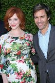 Christina Hendricks and Eric McCormack at The Rape Foundation's Annual Brunch, Private Location, Bev