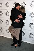 Nathan Fillion and Susan Sullivan at the An Evening with