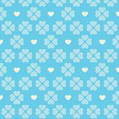 Seamless beige heart pattern