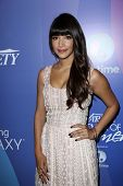 Hannah Simone at Variety's 5th Annual Power of Women, Beverly Wilshire, Beverly Hills, CA 10-04-13