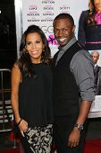 Aonika Laurent and Sean Patrick Thomas at the