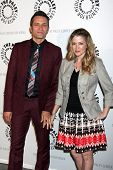 Seamus Dever and Juliana Dever at the An Evening with