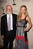 James Burrows and daughter Paris Burrows at the Television Academy Presents An Evening Honoring Jame