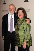 James Burrows and Margo Martindale at the Television Academy Presents An Evening Honoring James Burr