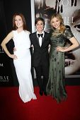 Julianne Moore, Kimberly Peirce and Chloe Grace Moretz at the
