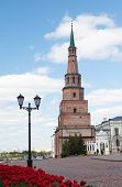 Soyembika Tower in Kazan Kremlin