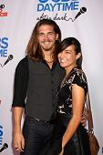 Malcolm Freberg and Lauren Smith at the CBS Daytime After Dark Event, Comedy Store, West Hollywood,