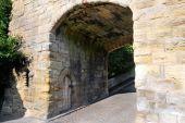 Warkworth Bridge And Gate