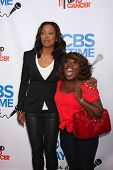 Aisha Tyler and Sheryl Underwood at the CBS Daytime After Dark Event, Comedy Store, West Hollywood, CA 10-08-13