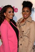 Gloria Govan and Laura Govan at the Hollywood In Bright Pink, Bagatelle LA, West Hollywood, CA 10-09