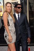 Colbie Caillat, Kenny 'Babyface' Edmonds at the Kenny