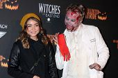 Sarah Hyland at the 8th Annual LA Haunted Hayride Premiere Night, Griffith Park, Los Angeles, CA 10-10-13