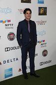 Darren Criss at Hugh Jackman