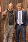 Woody Harrelson and Owen Wilson at the