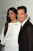 Matthew McConaughey and Camila Alves at the