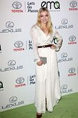 Francesca Eastwood at the 23rd Annual Environmental Media Awards, Warner Brothers Studios, Burbank, CA 10-19-13